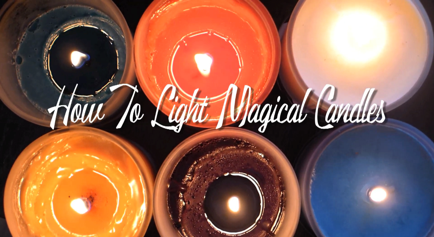 How-To Light Magical Candles