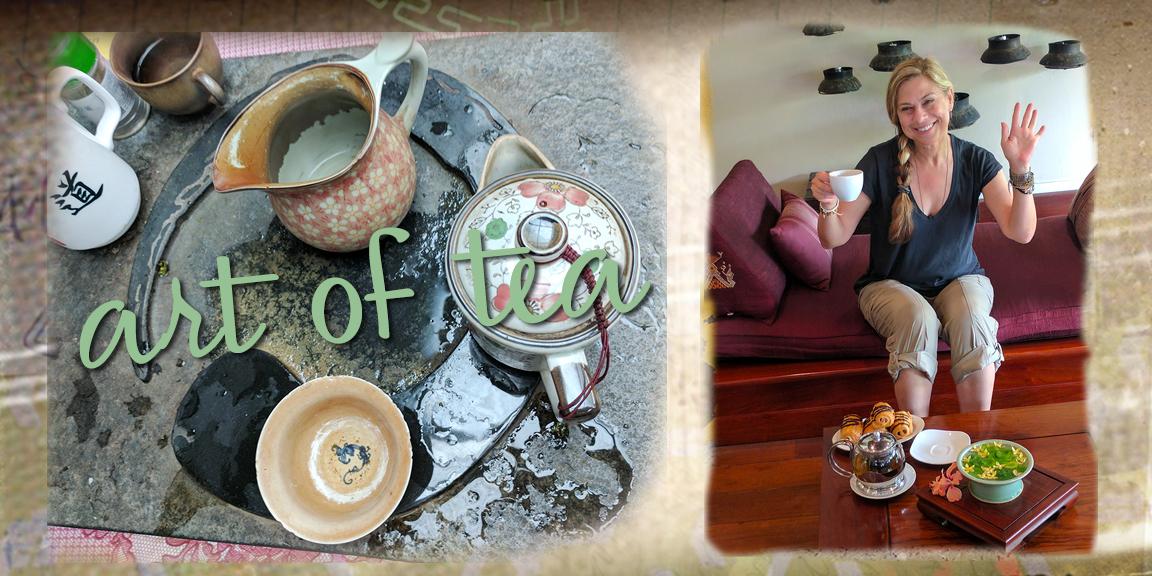 Tea Time in Taiwan